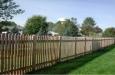 French Gothic Cedar Fence