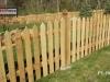 Traditional Cedar Picket Fence