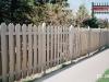Alternating Board Traditional Cedar Picket Fence