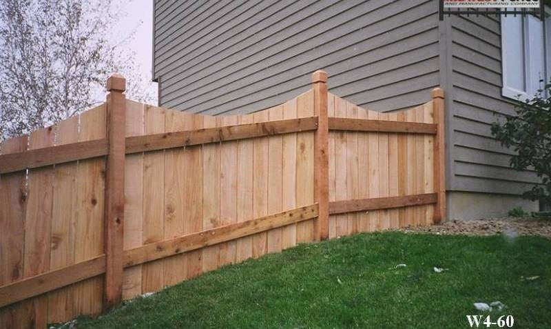 4 Foot High Wood Private Fences