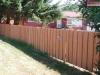 4 Foot High Batten Board Cedar Privacy Fence