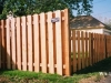 Alternating Board Privacy Fence