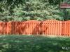 Contoured Alternating Board Cedar Privacy Fence