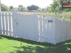 Alternating Board Privacy Fence With Gate