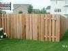 Alternating Board Cedar Fence