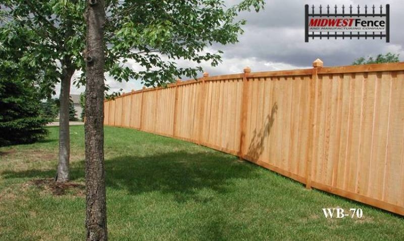 More Styles Of Wood Privacy Fences Midwest Fence