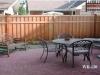 Batten Cedar Fence Gives Privacy