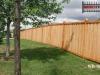 Batten Cedar Wood Privacy Fence