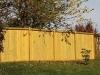 Versatile King Style Wood Fence