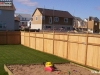 King Style Wood Fence Offers Privacy