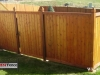 King Style Wood Privacy Fence With Gate