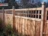 Lattice Top Privacy Fence Fits In with Nature