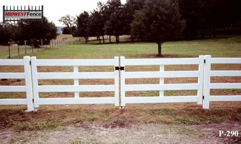 2 And 3 Rail Pvc Fences Midwest Fence