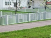 PVC Picket Fence with Caps