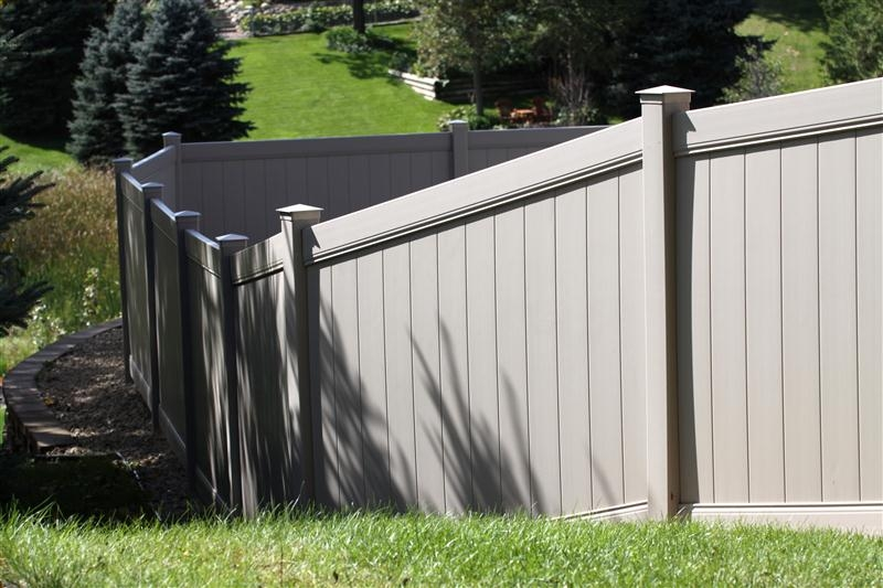 Privacy Style Pvc Fences Midwest Fence