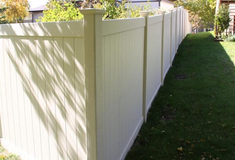 Privacy Style PVC Fence