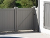 PVC Privacy Fence Cleans Easily
