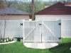 Gates Offer Versatility for PVC Fence