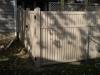 PVC Vinyl Fence Cleans Easily