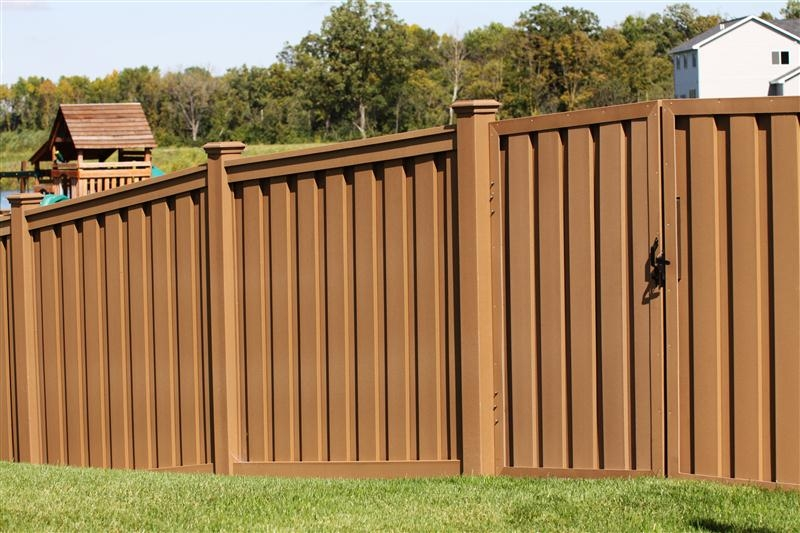 Trex Fiberglass Is Newest Fence Material Midwest Fence
